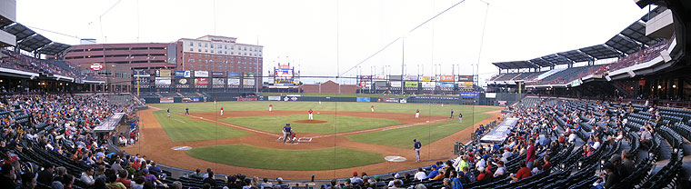 Triple Aaa Number >> Chickasaw Bricktown Ballpark - Oklahoma City Dodgers