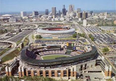 Turner Field aerial poster