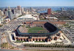 Camden Yards aerial posters