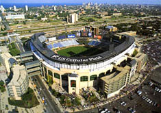 U.S. Cellular Field aerial poster