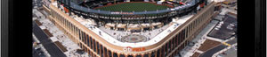 Citi Field aerial poster and frame