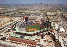 Citizens Bank Park aerial poster
