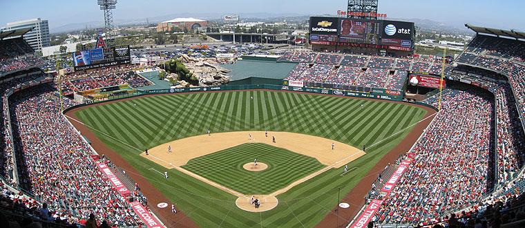 Angel Stadium of Anaheim - Los Angeles Angels