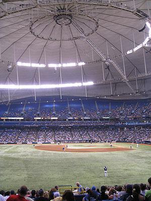 Tropicana Field Tampa Bay Rays