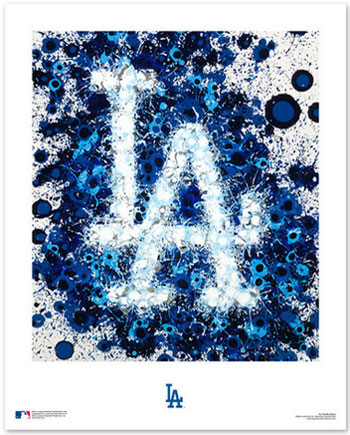 Los Angeles Dodgers Logo Art