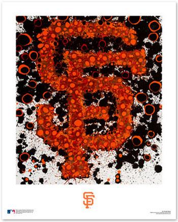 San Francisco Giants Logo Art
