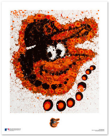 Baltimore Orioles Logo Art