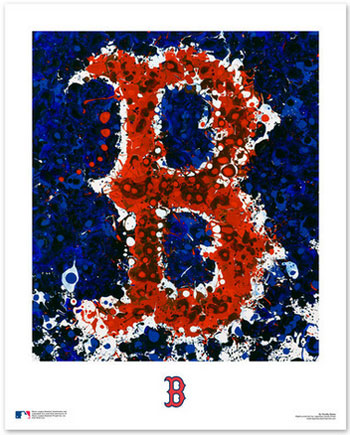 Boston Red Sox Logo Art