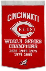 Reds championship banner