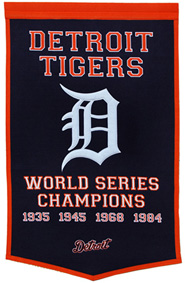 Tigers championship banner