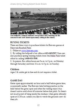 Arizona Spring Training Ballpark Guide