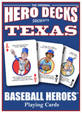 Texas baseball playing cards