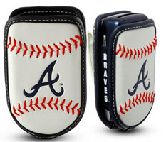 Atlanta Braves cell phone holder case