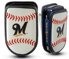 Milwaukee Brewers cell phone holder case
