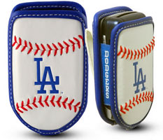 Los Angeles Dodgers cell phone holder case