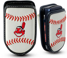 Cleveland Indians cell phone holder case