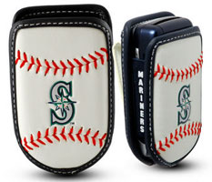 Seattle Mariners cell phone holder case