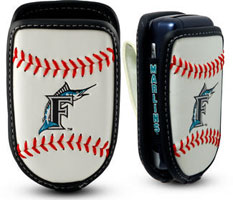Florida Marlins cell phone holder case