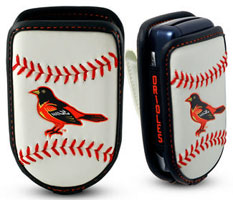 Baltimore Orioles cell phone holder case