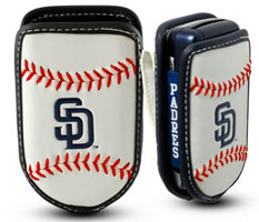 San Diego Padres cell phone holder case