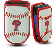 Philadelphia Phillies cell phone holder case