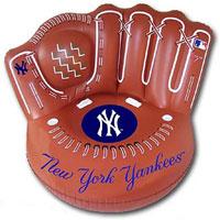 New York Yankees Glove. Yankees Inflatable Baseball Glove Chair