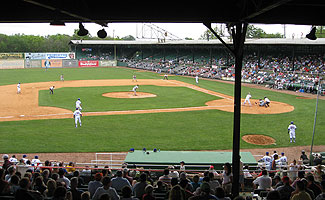 Rickwood Field in Birmingham
