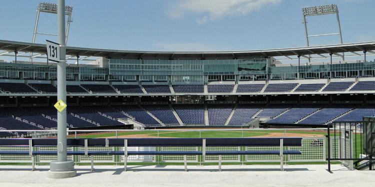 College World Series ballpark in Omaha