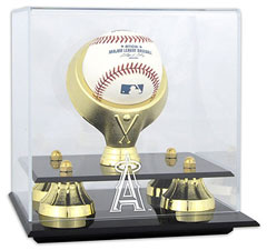 Angels baseball display cases