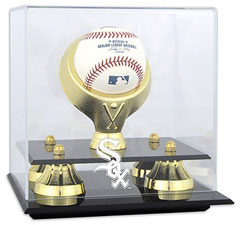 White Sox baseball display cases