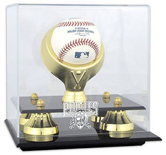 Pirates baseball display cases