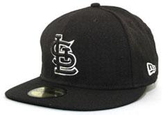 Cardinals fitted black hat e5a94d7db3b