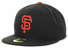 4ee3636e9c8d1 Giants fitted authentic hat