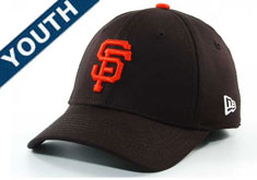 55697ba8feb98 Giants stretch fitted youth hat