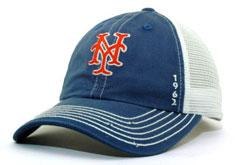 6dadc9b72e8 Mets adjustable mesh hat