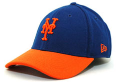 875717c0ff624 Mets fitted two tone hat