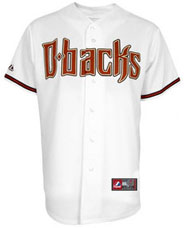 Arizona Diamondbacks team and player jerseys