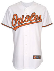 Baltimore Orioles team and player jerseys