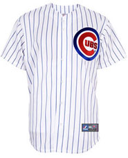 Chicago Cubs team and player jerseys