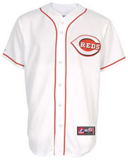 Cincinnati Reds team and player jerseys