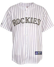 Colorado Rockies team and player jerseys