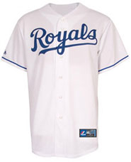 Kansas City Royals team and player jerseys