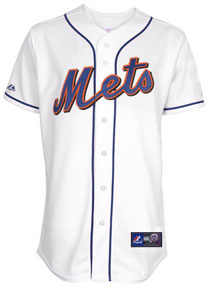6448be90d Mets home white replica jersey