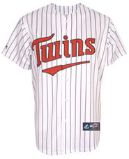 Minnesota Twins team and player jerseys