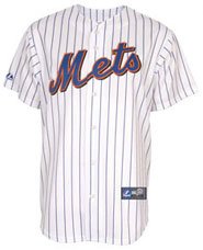 New York Mets team and player jerseys