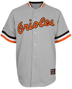 the best attitude 3a59c c16a3 baltimore orioles throwback jersey