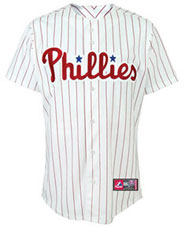 Philadelphia Phillies team and player jerseys