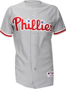 2e6f321e8 Phillies road grey authentic jersey