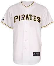 Pittsburgh Pirates team and player jerseys