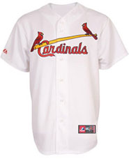 St. Louis Cardinals team and player jerseys
